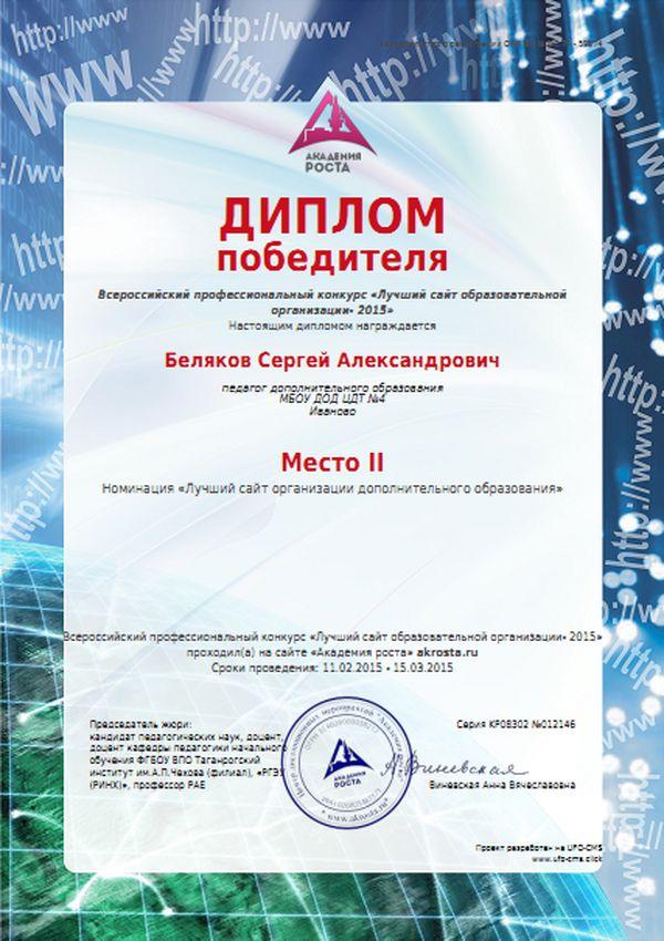 Международные профессиональные конкурс