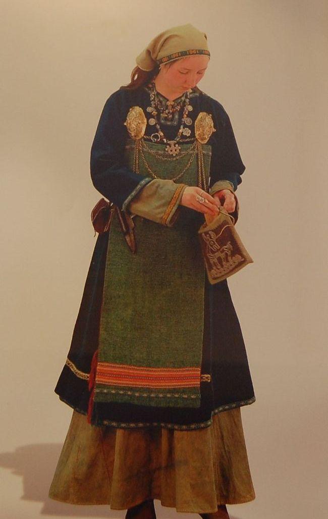 Исторические Платья 9-10 Век