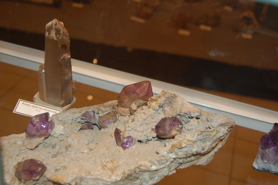 Выставка минералов